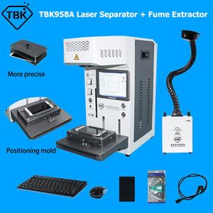 TBK958A Machine de marquage au laser entièrement mise au point automatique pour iPhone 11 x xR Séparateur de couverture du dos Démontage du démantèlement