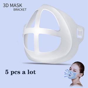 Maskenhalter Stützrahmen 3D dreidimensionale Artefakt atmungsaktive Innenmaskenhalter Pad anti-langweilige Klammer PE wiederverwendbar waschbar Frauen