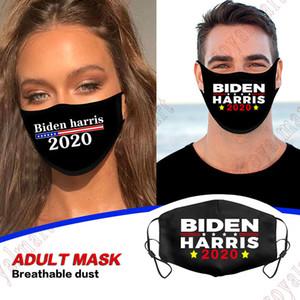 Heiß-Verkauf von Joe Biden Harris Black Cotton Maske 2020 amerikanischen Wahl President Supplies Staubdichtes Breath Mask 3 Styles Kostenloser Versand