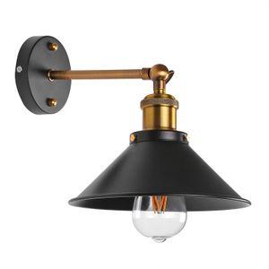 Black Metal Umbrella Loft Wall Light Pendant Light Nordic Iron Lampshade Edison Lamp metal Cage Dining Room Countryside Decor