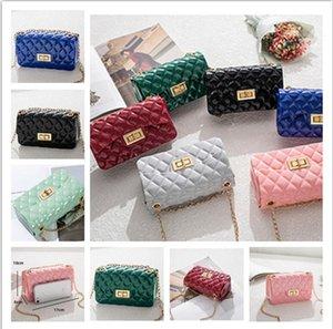 Donne luxurys Designers borse in pelle di metallo cinghia a tracolla di colore della caramella Fanny modo delle signore del pacchetto della spalla Party Bag Pouch Purses CZ9102