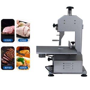 Vollautomatische elektrische Knochen Sägemaschine kommerzielle Fleisch-Schneidemaschine Restaurant und Supermarkt Fischschneidemaschine