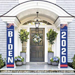 Toptan 2020 Presidentail Seçim Joe Biden Bahçe Asma Perde Banner Bayraklar DHL Ücretsiz Kargo DHF1457