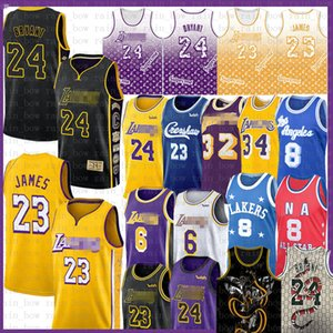 LeBron 23 James 6 Basketball Jersey Bryant Anthony 3 Kyle Davis Kuzma Mens Adult Youth kids 8 Shaquille 34 O'Neal Earvin 32 Johnson NCAA