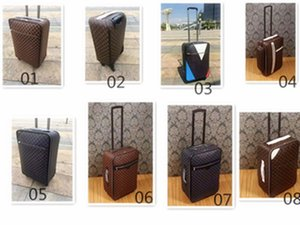 999999999999999999999New- Famous Barding Bag Rolling Luggage Sets Women Unisex Men Spinner Expandable Trolley