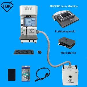11Pro Max X XR 8G Crack arrière en verre séparatrice TBK-958B Ensemble complet machine de séparation laser fibre avec la boîte extracteur et MOULES Fumée
