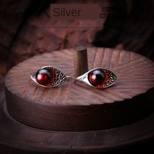 Silberner productTaiyin Seiko Mark Wettbewerb Steinschnitzen rot eardrop Garnet Eardrop Garnet S925 Silber Schmuck Ohrringe