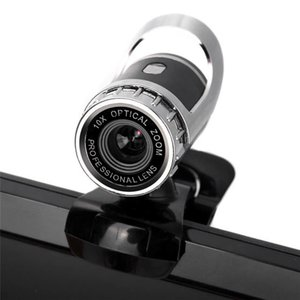 360 Degree Rotate Webcam USB 2.0 HD 12MP High Definition Computer Camera With Built-in Microphone 30FPS for PC Laptop