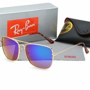 JASPEER Espejo gris lente polarizada Gafas de sol mujeres de los hombres de conducción