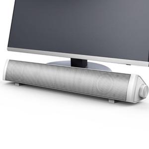 صدى السلكية الحاسوب المتكلم بار صوت ستيريو USB مدعوم البسيطة طويل مكبرات الصوت صوت المتكلم الغنية باس للتلفزيون