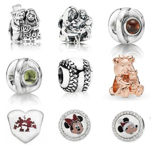 NEW 100% 925 Sterling Silver bead 791116 791369 790127GR 790127PE 790969 788007