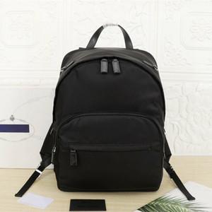 Sacs de loisirs simples de la nouvelle mode imperméable grande capacité Sac en toile Double sac à bandoulière Homme Sac à dos pour hommes Sac de voyage léger