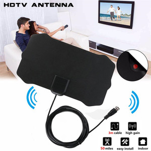 NEW 3.7M length 1080P Indoor Digital TV Antenna Signal Receiver Amplifier TV Radius Surf Fox Antena HDTV Antennas Aerial Mini DVB-T T2