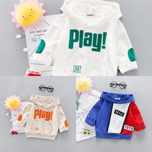 Primavera HBYs7 QLivT Meninos e outono puro algodão camisola estilo coreano infantil Hoodie estilo baby baby capuz 4 casuais 1-2-3 anos coat Wester