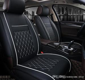 Universal Araç Koltuk Cadillac SRX ATS CT6 XT4 / XT5 için 5 Koltuklar Kapaklar