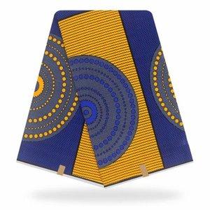 Blesing 2020 cera original de alta calidad de impresión africano tejido tela africana 100% algodón 6 yardas de tela cera