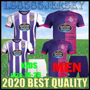 Hommes 20 21 Real Valladolid Soccer Jerseys Fede S. Sergi Guardiola Óscar Plano Camisetas de Fútbol 2020 2021 Chemises de football pour enfants adultes