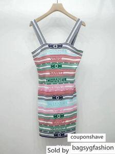 Milan Runway Blue Pink Short Sleeves Knitting Women Dress Designer Embroidery Long Pullovers Womens