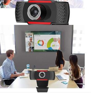1080P / 720P / 480p cámara webcam del ordenador USB micrófono incorporado lente rotativa computadoras portátiles de escritorio cámara webcam Para Transmisión en Vivo Online
