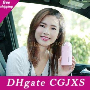 Magic Light Usb Car Air Humidifier Led Lights Ultrasonic Aroma Diffuser Mist Maker Mini Office Air Purifier