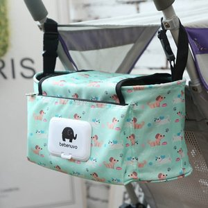 New Stroller Hanging Bag Mummy Stroller Travel Nappy Bags Water Bottle Diaper Storage Nursing Bag Accessories