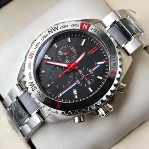 Meilleurs Designer Montres Chronographe Mouvement Quartz Montres Montre de Luxe SS Sports Sports Sports Montre-Bracelet Relogio Masculino Male Horloge Cadeau