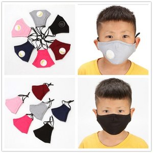 For Fabric Mask Face Cloth Children valve Cotton Anti-dust Masks PM2.5 Washable Non-Woven Kids with Uxxbl