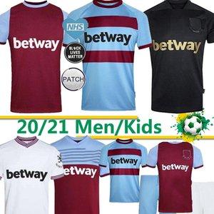 20 21 West Jersey jamón Iron Maiden 2019 2020 2021 Estados NOBLE jerseys del fútbol camisa de HALLER F.ANDERSON ANTONIO hombres hijos Tailandia del fútbol