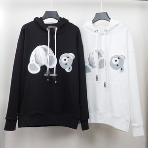Autumn Winter brand new Mens Stylist Hoodies embroidery decapitated bear Long sleeve hooded Pullover Womens casual loose Designer sweater