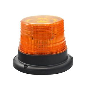 2p2pcs 12V Warning Light Magnetic Roof Light Waterproof Flashing Traffic Warning for School Bus Vehicle Forklift Car