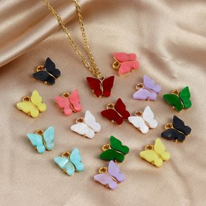 Farfalla Pendenti dei monili di fascini che fanno DIY accessori Acrilico Pendente in forma per gioielli collane orecchini bracciali Bohemian Incanta Animale