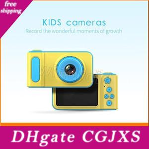 K7 الكاميرا الاطفال 2 0.0 بوصة الصور الرقمية ومسجلات كاميرا الفيديو 1080p HD كارتون الأطفال لطيف كاميرا هدية عيد ميلاد للمنازل صور سياحية بنا