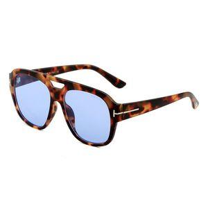 Marka Tasarımcısı Lüks Büyük Qualtiy Moda Tom Güneş Gözlüğü 0630 Man Kadın Için Erika Gözlük Ford Güneş Gözlükleri Ayna Gözlük Ücretsiz Kargo