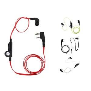 2 Pin Noodle Style Earbud Headphone K Plug Earpiece Headset For Baofeng Uv5R Bf-888S Uv5R Radio