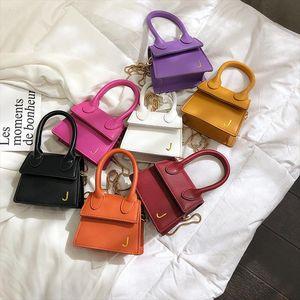 Mini Kadın Tuşları Çanta Marka Çanta J El Çantaları 2020 Yeni Messenger Crossbody Çanta Küçük Chians Tote Ruj Çantası