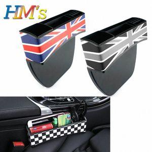 For MINI Cooper R56 R55 R50 R53 R60 F56 F55 F54 F60 Countryman Clubman Car Seat Storage Box For MINI Cooper S One Accessories H6Ar#