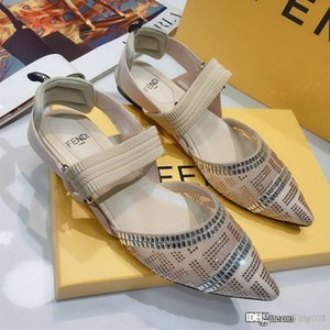 New Women's Colibrì in nude mesh and leather Luxury Designer Shoes Women's Sandals Fashion Casual Designer Shoes Top Quality Size