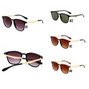 Nuevo 4278 marco de metal de las gafas de sol de los hombres Gafas de sol de verano conductor de protección solar del controlador de anteojos del envío 10pcs