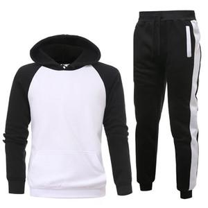 de atacado Mens Hoodies e camisolas Sweat Suit Marca Roupas Masculino Tracksuits Casacos Sportswear Define fatos de jogging Hoodies