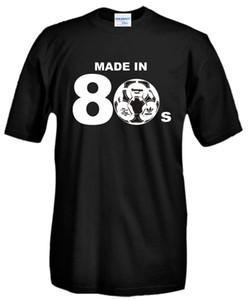 T Shirts Moda 2020 verano nuevos hombres Camiseta de algodón Maglia 80 de la vendimia el estilo del futbolista J412 camiseta barata Online