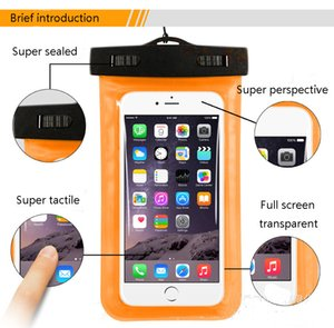 Universal Waterproof Case Protective Cellphone Dry Bag Pouch for iPhone 12 11 Samsung S8 S9 S7 Smart Phone Diving Swimming