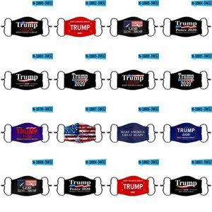 Facemasks Us eleição presidencial Máscara roxo embalados individualmente Trump Mask Proteção Moda Rosto máscaras Us venda quente