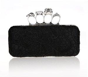 New-Bag für Party-Tageskupplungen Knuckle Boxed Kristall Clutch Bag Cvening für Hochzeiten HQB1716