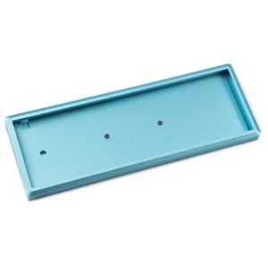 Комплект 2 - Алюминий CNC Top Bottom Латунь Вес YMDK Melody 96 Тип C горячей замены PCB клавиатуры Kit