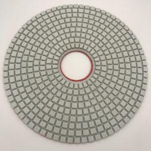 Diamant-Polierauflage 14 Zoll für Poliermarmorböden Schleifpolierscheibe Granit Engineered Stone Pads Dicke 5 mm