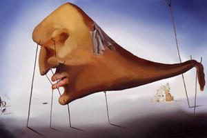 Pinturas de aceite de impresión Salvador Dalí Sueño Decoración pintada a mano de alta definición en la lona arte de la pared Imágenes A400