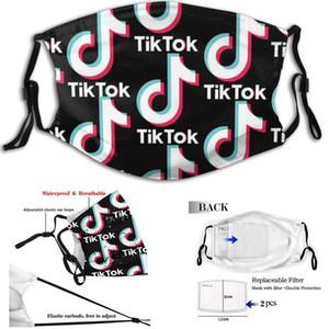 trunfo TikTok Adulto máscaras M-forma do nariz clipe ajustável filtro substituível dupla proteção fones elacstic impermeáveis da moda nós