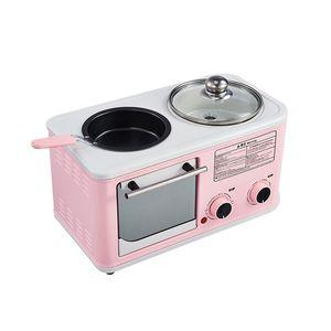 Sandwich 1200W tortilla Sartén multifuncional desayuno máquina eléctrica Horno Tostadora Cuatro Hot Pot vapor de la caldera