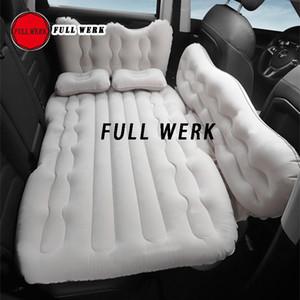 İç Acce için Açık Kamp Mat Çocuk Egzoz Pad Sleeping Car Arka Koltuk Şişme Yatak Hava Yatak Travel Set