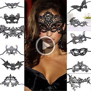 26 Dens alloween alf Fa máscara máscaras partido Decoração La Masquerade Craft Supplies Presentes Partido Supplie Cristmas Evento Decor Emily